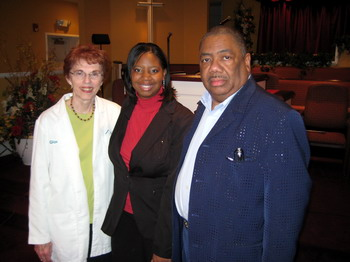 Mercy M.A.R.C. Staff with Pastor